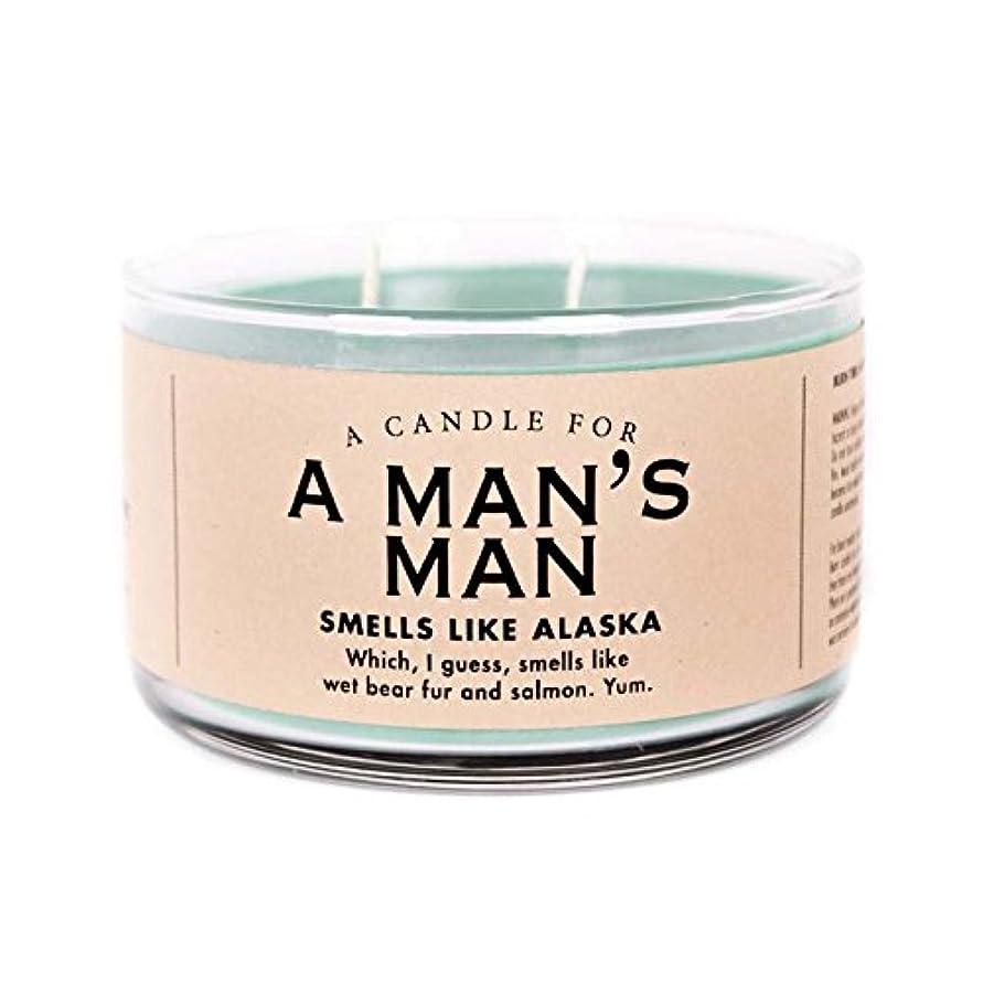 相対サイズ入浴寄生虫Man 's Man Candle