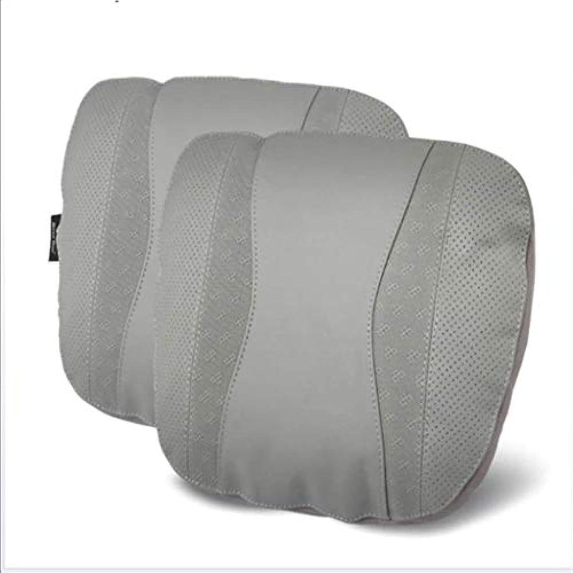住居ウェイドベストネックピロー、カーシートネックピロー、トラベルピローネックパッド、カーネックピローサポートピローとして使用、航空機のネックピロー、首の疲れを和らげる (Color : Gray)