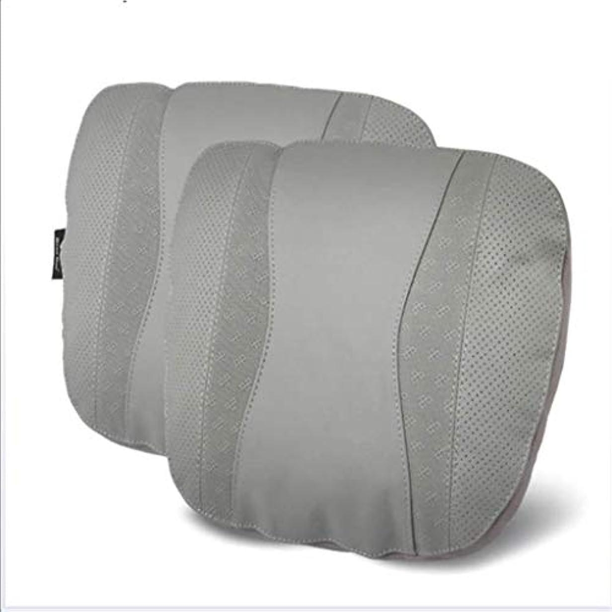 剥離チャンバー緩やかなネックピロー、カーシートネックピロー、トラベルピローネックパッド、カーネックピローサポートピローとして使用、航空機のネックピロー、首の疲れを和らげる (Color : Gray)