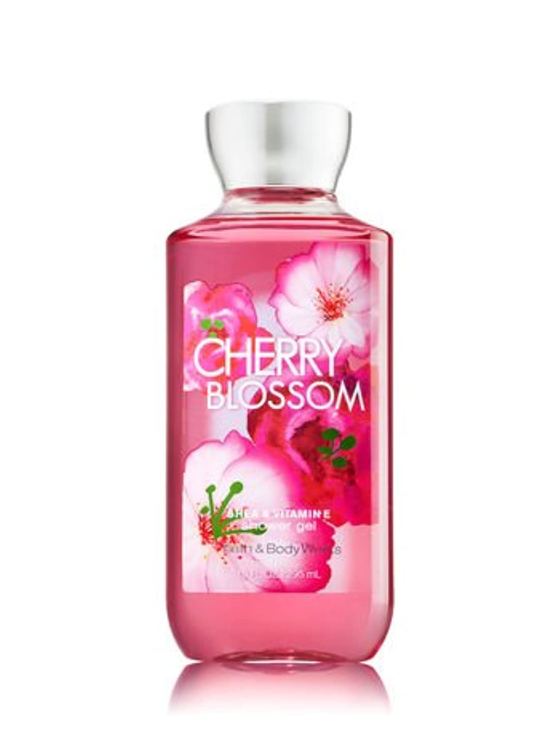 未亡人不和スパイラル【Bath&Body Works/バス&ボディワークス】 シャワージェル チェリーブロッサム Shower Gel Cherry Blossom 10 fl oz / 295 mL [並行輸入品]