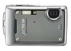 OLYMPUS 防水デジタルカメラ μ795SW (ミュー) ダークシルバー μ795SWSLV