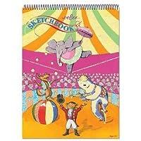 eeBoo Sketchbook - Circus by eeBoo