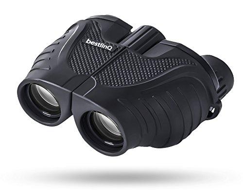 【ナイトビジョン】 bestlinQ ベストリンク 双眼鏡10x25 bq-BIO3-BK BaK4 光学倍率10倍【薄暗いコンサートホールでも明快でクリアーな視界を】BaK4プリズムでブルーレイ画質を実現 高画質 ストラップ付ポロプリズム式 製品保証12か月コンサートシーンに適用