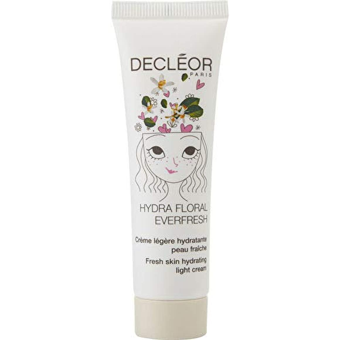 等々王位困難デクレオール Hydra Floral Everfresh Fresh Skin Hydrating Light Cream - For Dehydrated Skin 30ml/1oz並行輸入品
