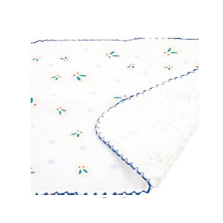 家禽具体的に用心ふんわりマイクロミニハンカチ 雪兎