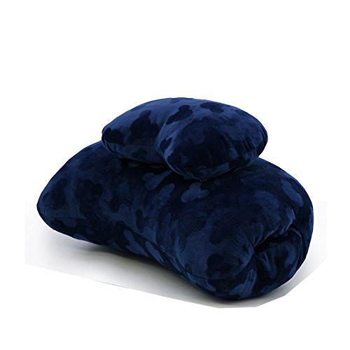 Nelipo オフィス寝る枕 携帯枕 デスク枕 多機能枕 ソフト抱き枕/首枕...