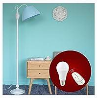KDJHP 現代のクリエイティブフロアランプ、リビングルームの寝室の王女のソファ垂直標準ランプブルーリモコンバージョン -6521 フロアランプ (設計 : Without table)