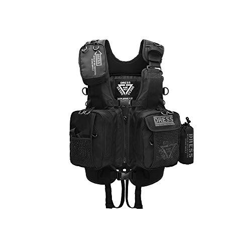 ドレス(DRESS) フローティングゲームベスト Air ブラック ブラック