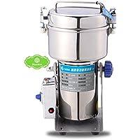 Hanchen 500g 食品グラインダー 万能型 電動スイング式 穀類ミル 調味料挽き 食品製粉器 超微粉ディスインテグレーター パウダーマシン 家庭用 110V/220V