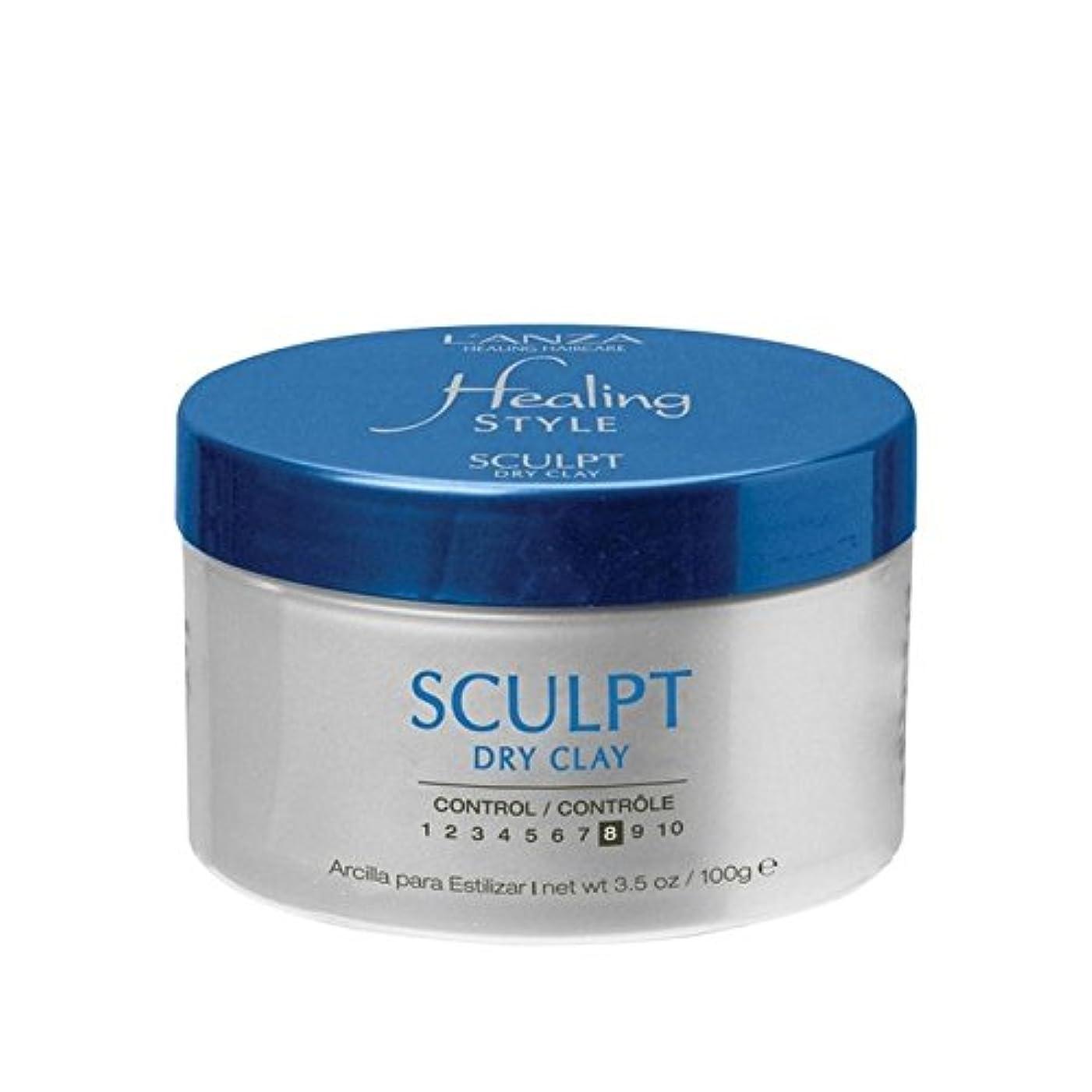 疼痛会話恨みのアンザ治癒スタイル乾燥粘土(100グラム)を彫刻 x4 - L'Anza Healing Style Sculpt Dry Clay (100G) (Pack of 4) [並行輸入品]