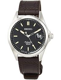 [セイコーウォッチ] 腕時計 メカニカル Mechanical(メカニカル) NET流通専用モデル クラシックライン 自動巻(手巻つき) 日本製 裏ぶたシースルーバック 日常生活用強化防水(10気圧) SZSB017 メンズ ブラウン
