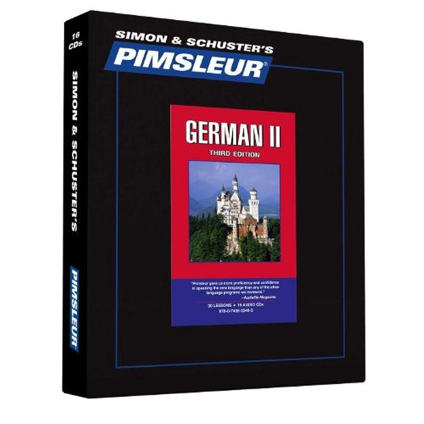 悪名高いアソシエイト操るPimsleur German Level 2 CD: Learn to Speak and Understand German with Pimsleur Language Programs (2) (Comprehensive)