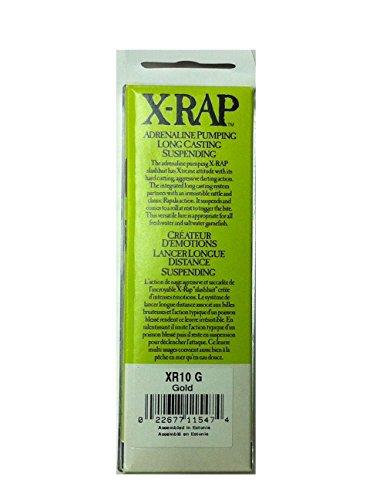 ラパラ ミノー Xラップ 10cm 13g ゴールド G XR10-G ルアー
