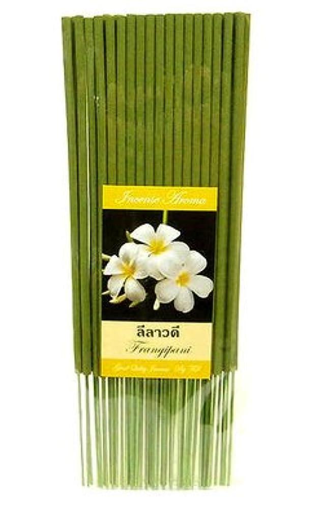 タイのお香 スティックタイプ [FRANGIPANI/フランジパニ] インセンスアロマ 約50本入りアジアン雑貨