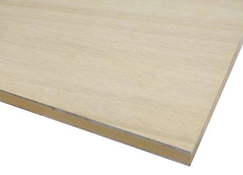 【木芸社】フラッシュパネル(F☆☆☆☆) 木製パネル・ベースパネル・レイアウトボード・模型土台 (600×300mm 厚み28mm)