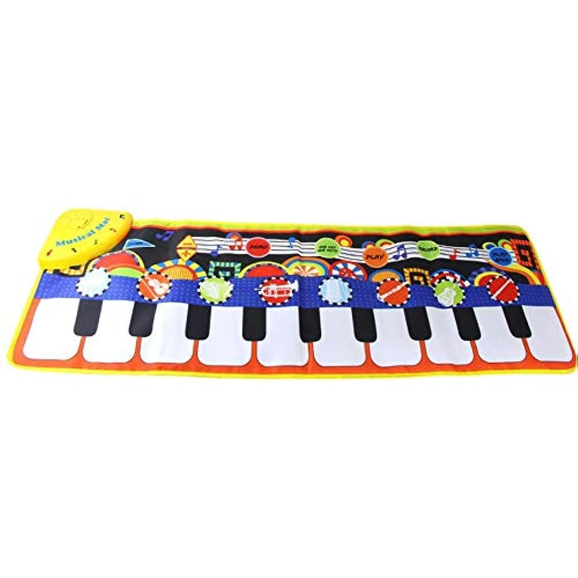 状況分天気赤ちゃんピアノ音楽ブランケット環境保護子供の多機能音楽ゲームカーペット早期教育クロールブランケット-