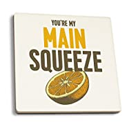 You 're My Main Squeeze–アートワーク 4 Coaster Set LANT-66612-CT