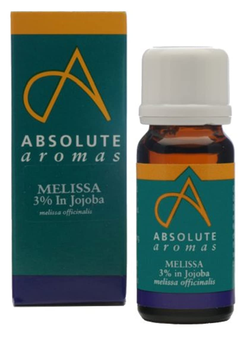 分数多様体スピンAbsolute Aromas Melissa 3% in Jojoba 10ml / ???10???????????????3?