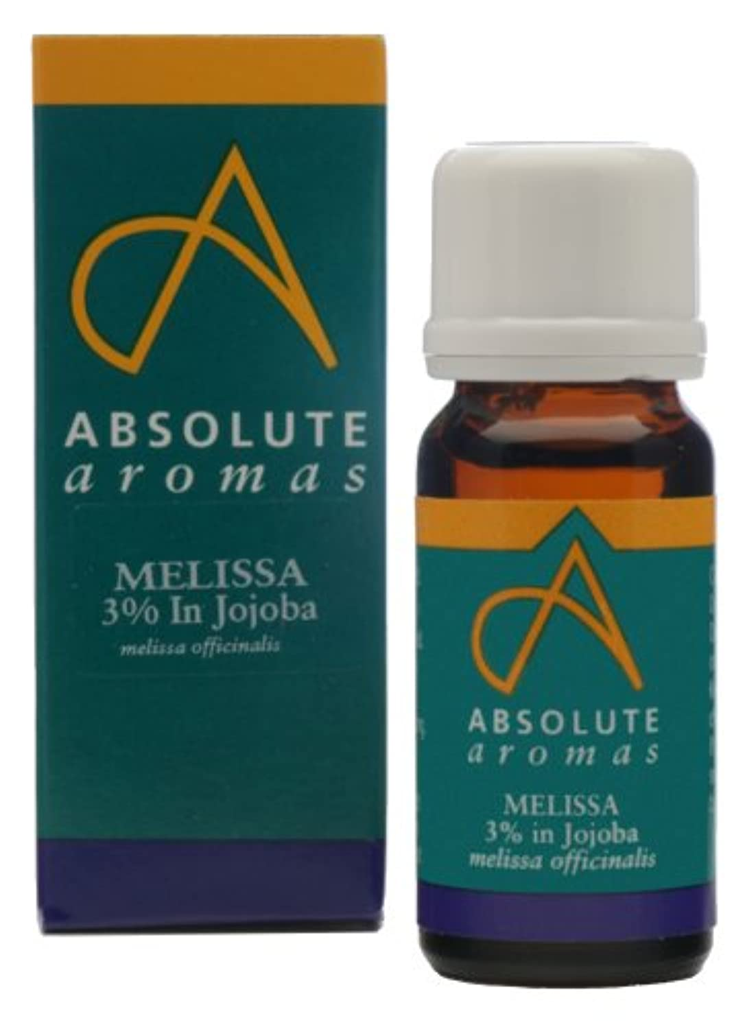 ケージクリケットドアAbsolute Aromas Melissa 3% in Jojoba 10ml / ???10???????????????3?