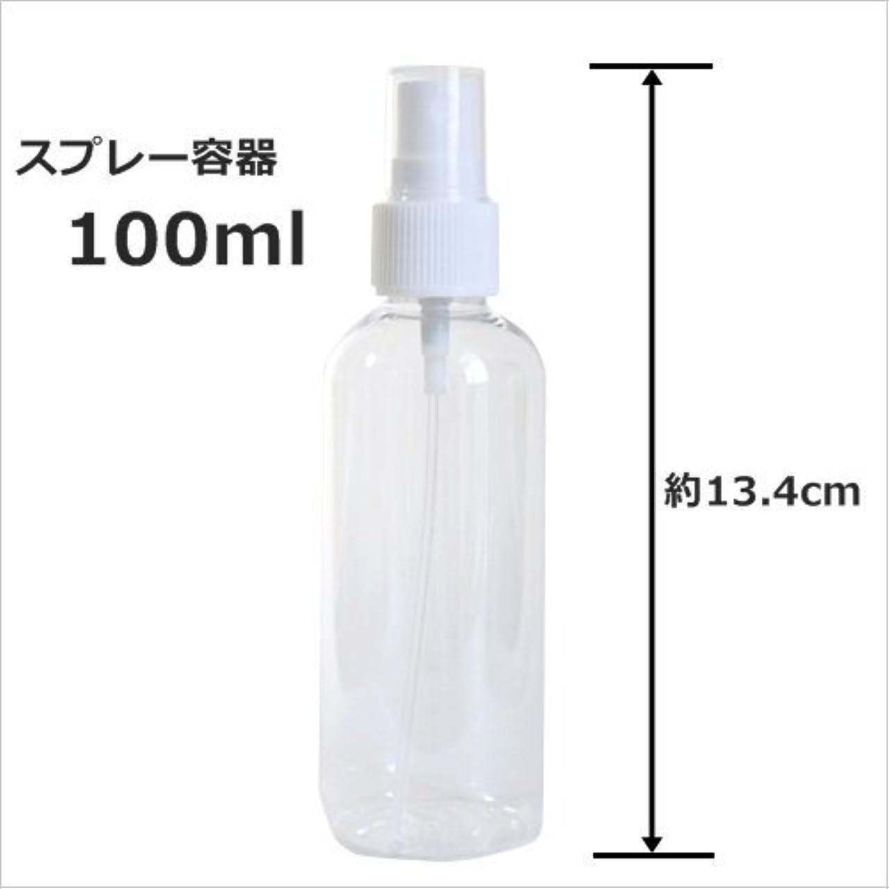 華氏アンテナ水没スプレーボトル 100ml プラスチック容器 happy fountain