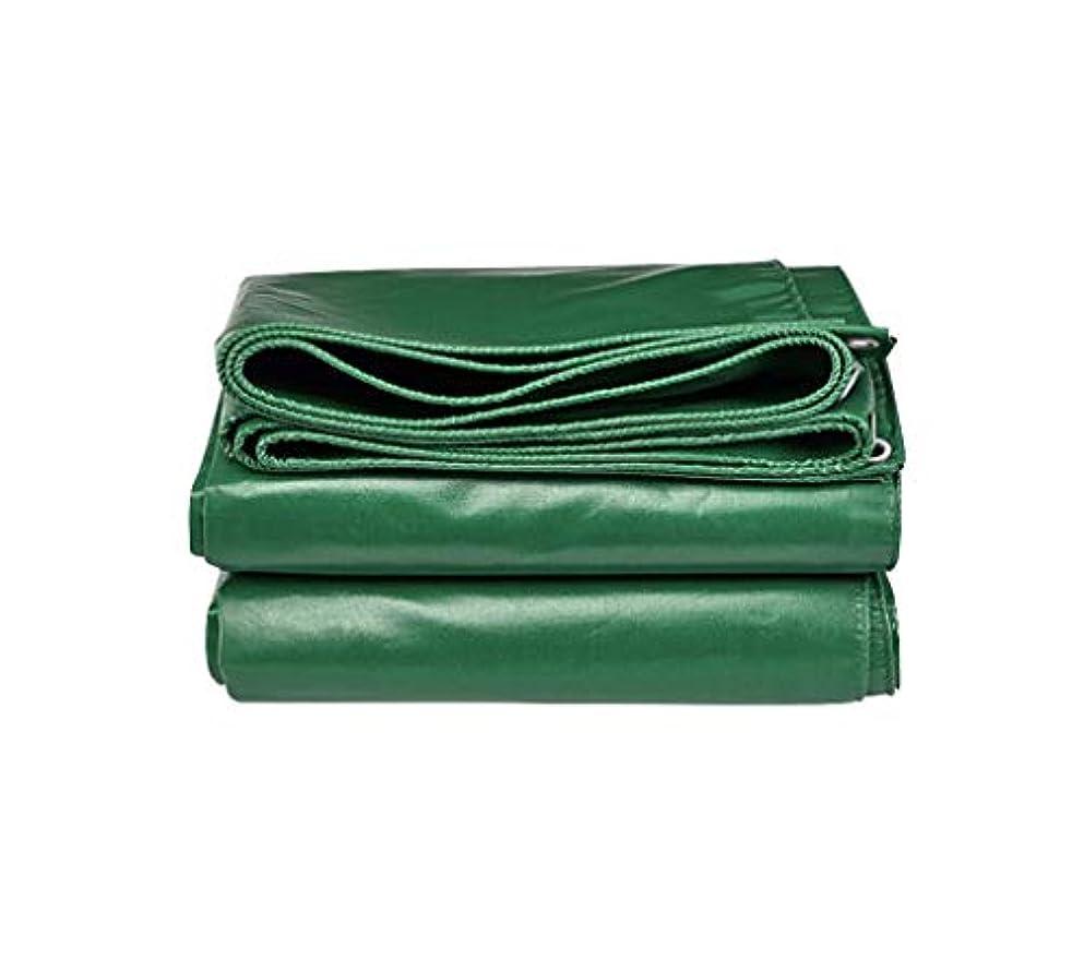 ディスコチャペル促すターポリン ターポリンの厚い緑の防水シートハロウィンの防水腐食防止と涙の証明キャンプの装飾の家族の服のため 庭のテント (Size : 6Mx4M)