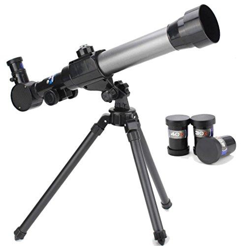 Anluddy 口径60mm 子供 天体望遠鏡 セット 倍率20倍/ 30倍...