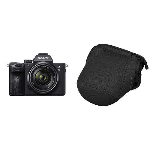 ソニー SONY ミラーレス一眼 α7 III ズームレンズキット FE 28-70mm F3.5-5.6 OSS ILCE-7M3K + HAKUBA 一眼カメラケース