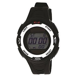 [クレファー]CREPHA 腕時計 デジタル ソーラー ウレタンベルト 5気圧 防水 ブラック TE-D054-BK メンズ