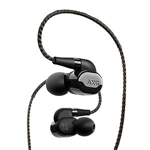AKG N5005 イヤホン Bluetooth対応/カナル型/ハイレゾ対応/ケーブル着脱式 ピアノブラック AKGN5005BLKJP 【国内正規品/メーカー2年保証付き】