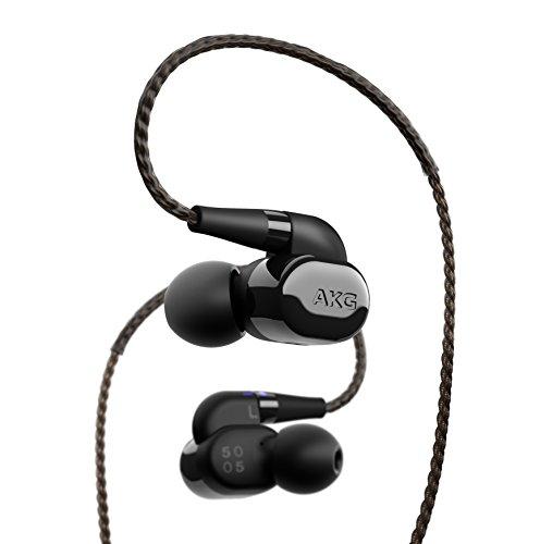 AKG N5005 イヤホン Bluetooth対応/カナル型/ハイレゾ対応/ケーブル着脱式 ピアノブラック AKGN5005BLKJP ...