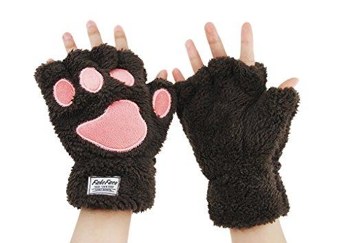 Cute Winter Gloves Women S Fashion Accessories Half Finger Finger