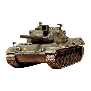 タミヤ 1/35 ミリタリーミニチュアシリーズ No.64 西ドイツ陸軍 レオパルド 中戦車 プラモデル 35064