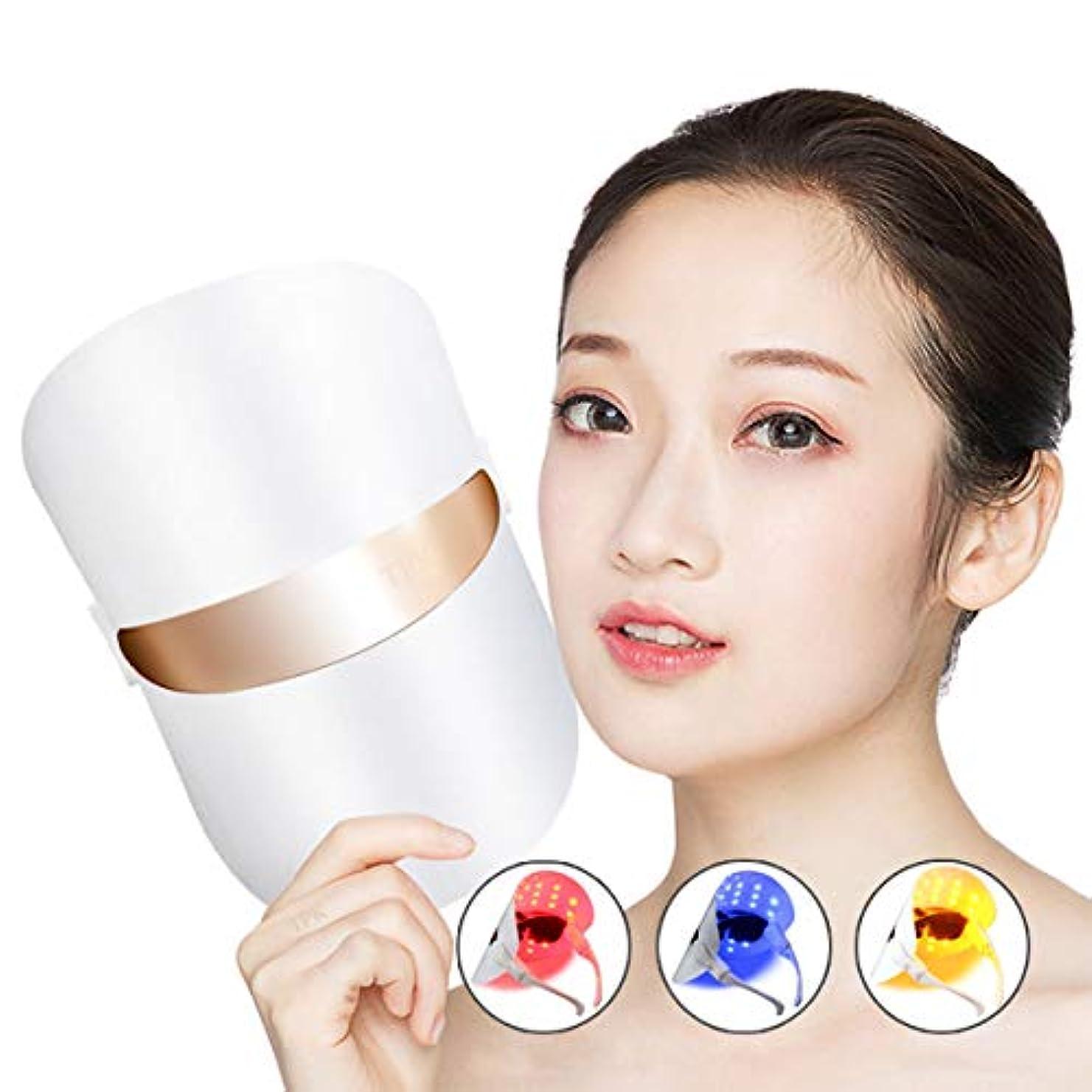 ネイティブペーストギネスフェイススキンケアホワイトニング肌の若返りそばかすの除去アンチエイジング分光LED光子の若返りマスク世帯