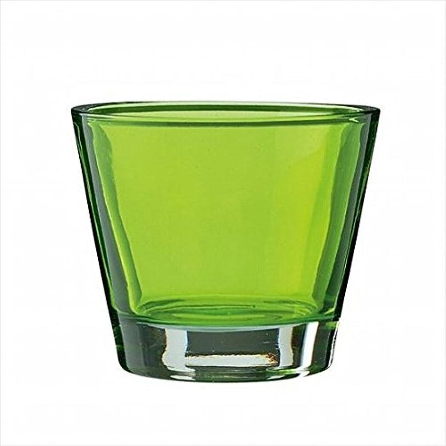 知っているに立ち寄るほかに提案するkameyama candle(カメヤマキャンドル) カラリス 「 グリーン 」 キャンドル 82x82x70mm (J2540000G)
