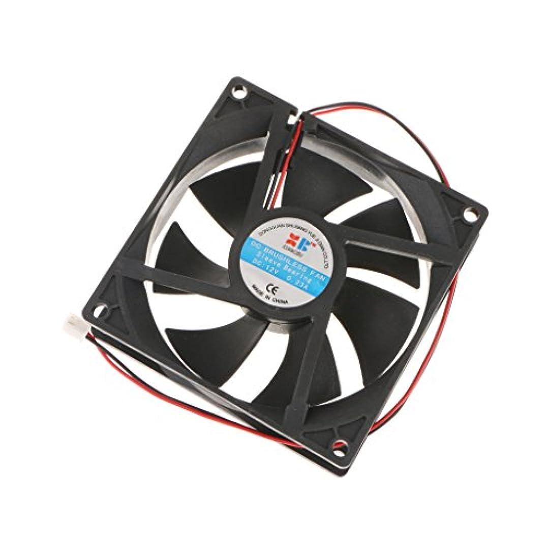 アーサーコナンドイル抹消抽象SONONIA 12V DC 92mm ケースファン PC CPU コンピュータ 冷却ファン 2線2ピン