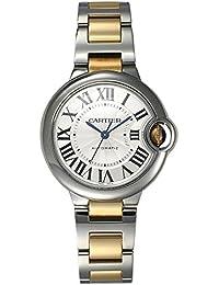 (カルティエ) CARTIER 腕時計 バロンブルー MM SS&YGコンビ W6920099 シルバー 33mm ボーイズ [並行輸入品]
