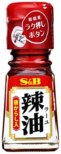 S&B ラー油(唐辛子入り) 31g×10個