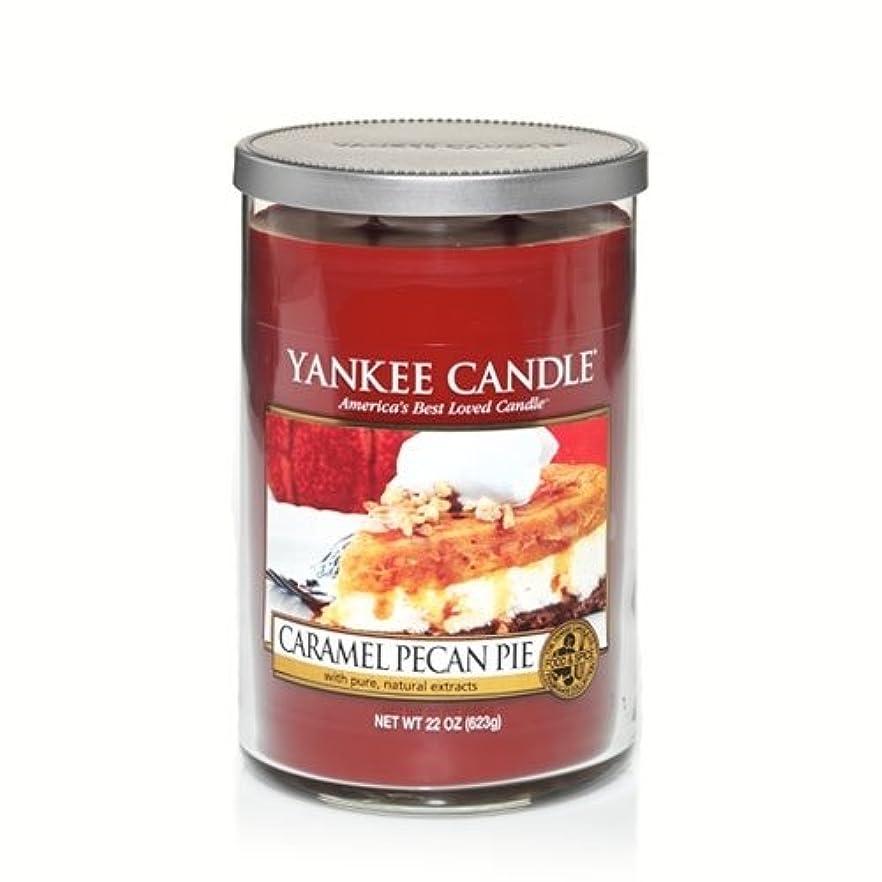 文化慣れているこんにちはYankee Candle Caramel Pecan Pie , Food & Spice香り Large Tumbler Candles 1245593-YC