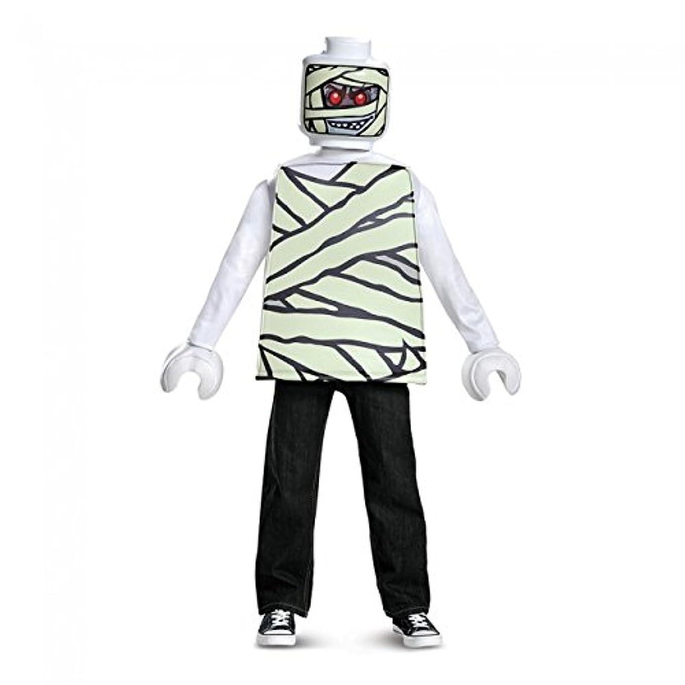 マニアックトレード円形のLEGO ICONIC Mummy Classic Mサイズ/レゴ ミイラ コスチューム キッズ ハロウィン 仮装 コスプレ