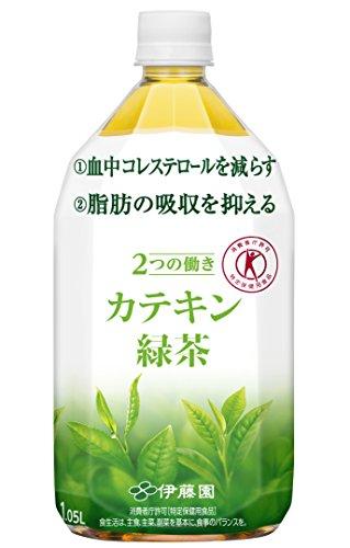 2つの働き カテキン緑茶 1.05L 1箱(12本)