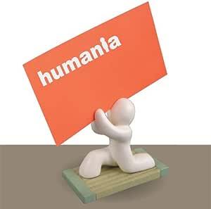 ☆ humania/ヒューマニア ☆白刃取り失敗カードスタンド/インテリア雑貨