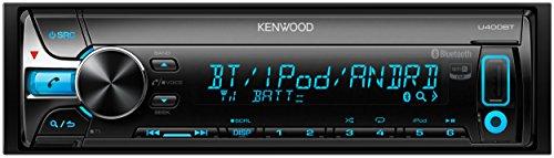 KENWOOD MP3/WMA/AAC/WAV対応CD/USB/BTレシーバー U400BT