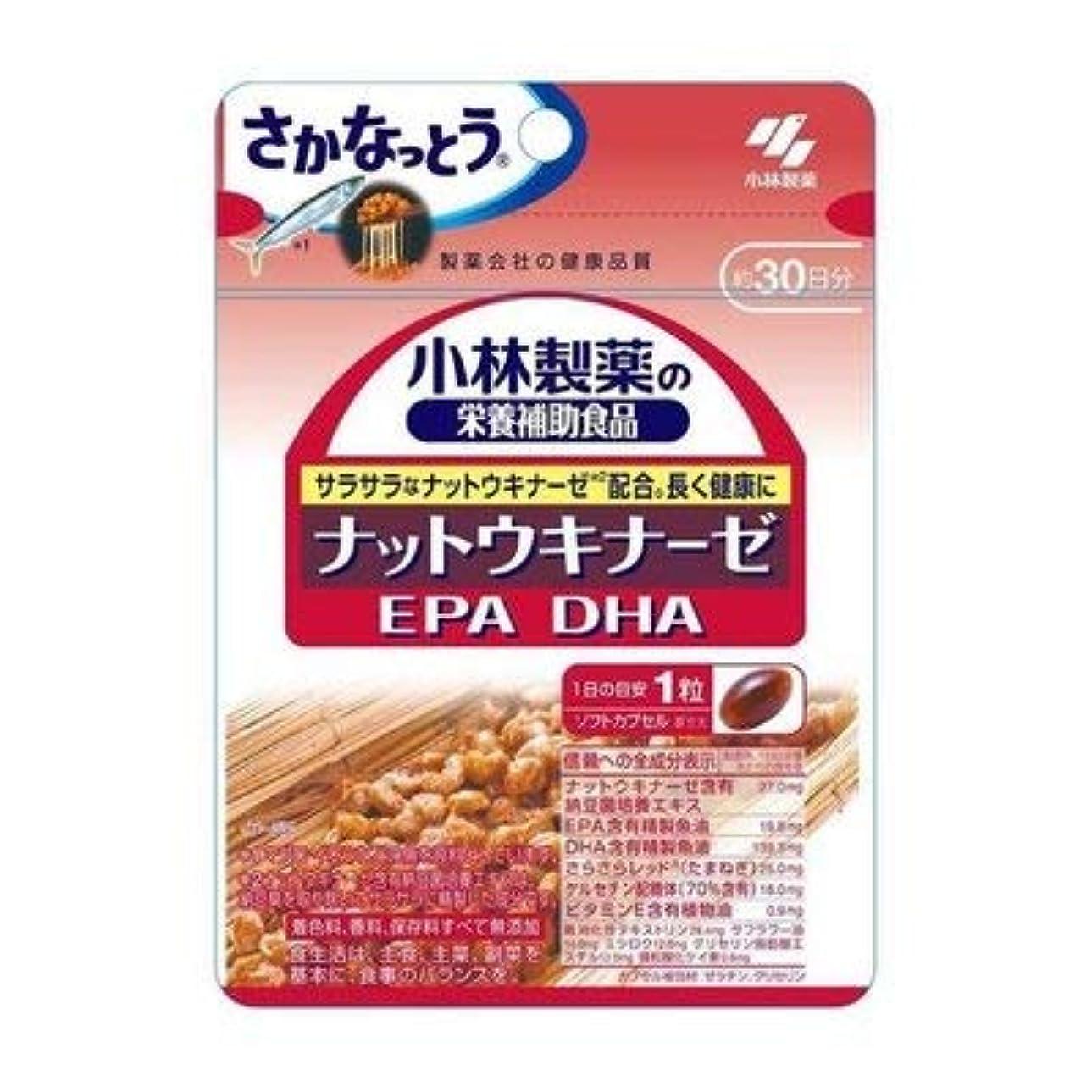 雪の会社翻訳者小林製薬の栄養補助食品 ナットウキナーゼ?DHA?EPA 30粒(約30日分) 4セット
