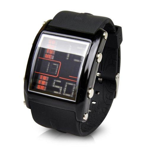 [フランテンプス]FRANC TEMPS 腕時計 HUIT ユイット ブラックxブラック FTH-0101 メンズ
