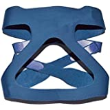 CPAP Mask HeadgearReplacement Respironics StrapsUniversal 4 Point Headgear Straps-Compatible with Most Apnea Masks for Home Use (without mask) (Blue)