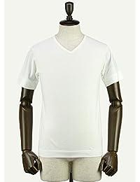 SWEEP!! スウィープ!! メンズ コットン 半袖 VネックTシャツ V-NECK (ホワイト)