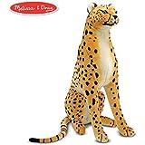 Mellisa n Doug 2128 11D x 33W x 21H Large Cheetah Plush Stuffed Animal