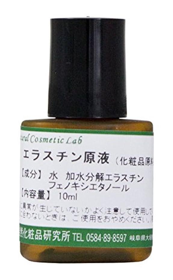 美人主人レプリカエラスチン原液 美容液 化粧品原料 10ml