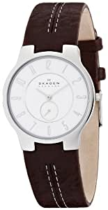 [スカーゲン]SKAGEN 腕時計 basic leather mens 433LSL1 ケース幅: 34mm Ultra Slim メンズ [正規輸入品]