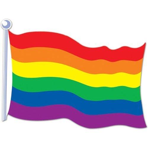 Rainbow Flag Cutoutおもちゃ[並行輸入品]